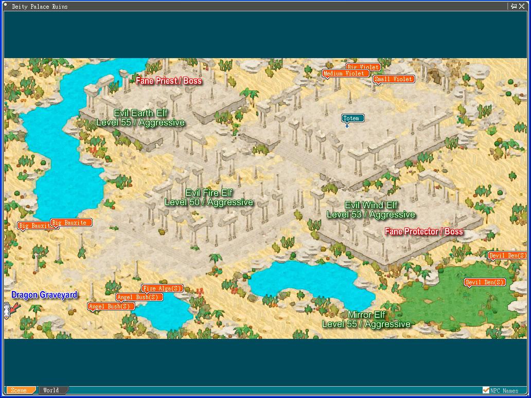 Map - Angels Online Community Site