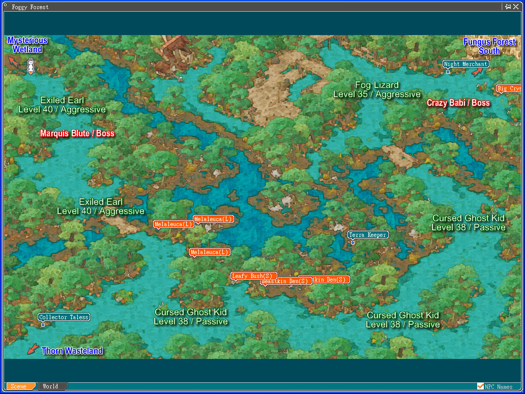Map - Angels Online Community Site The Forest Game Map on